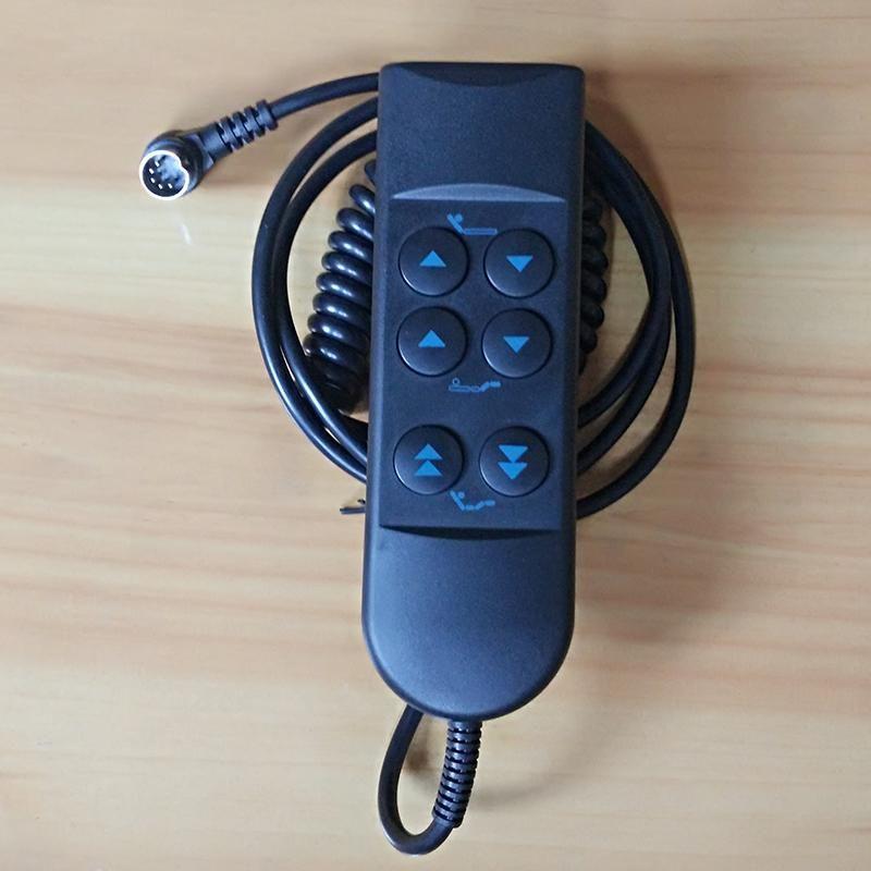 2019 Six Buttons Handle Handset Remote Control Dual Motors Electric