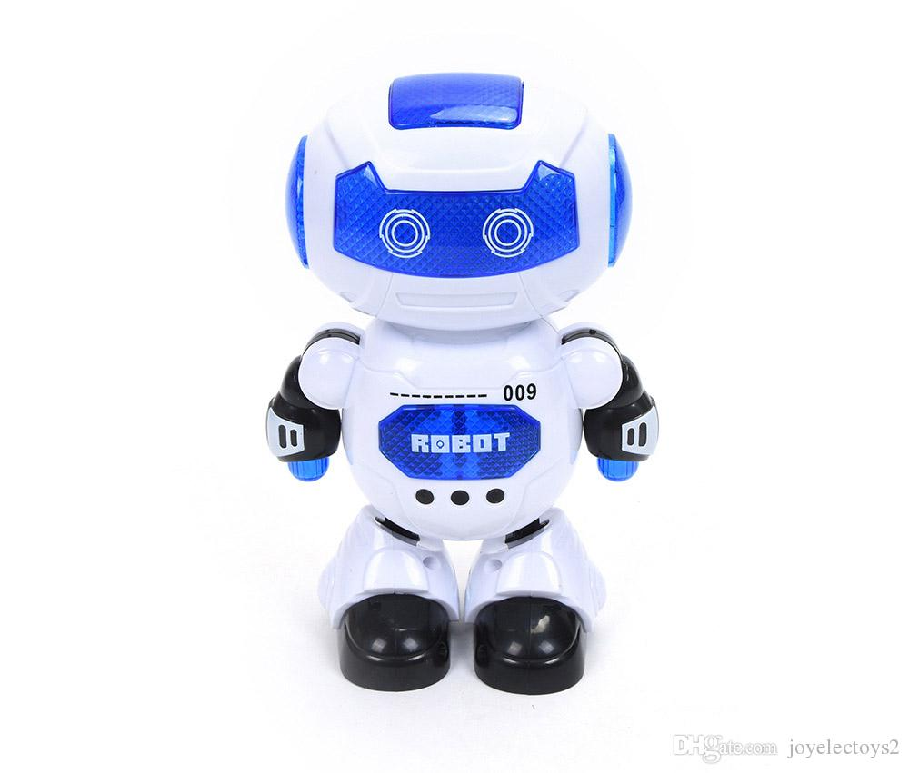 Children Robot Intelligence Dance Electric Alpha Robot Toy Educational Toys Children Toy With Led Light With Sing And Dance Function Best Kids Toys