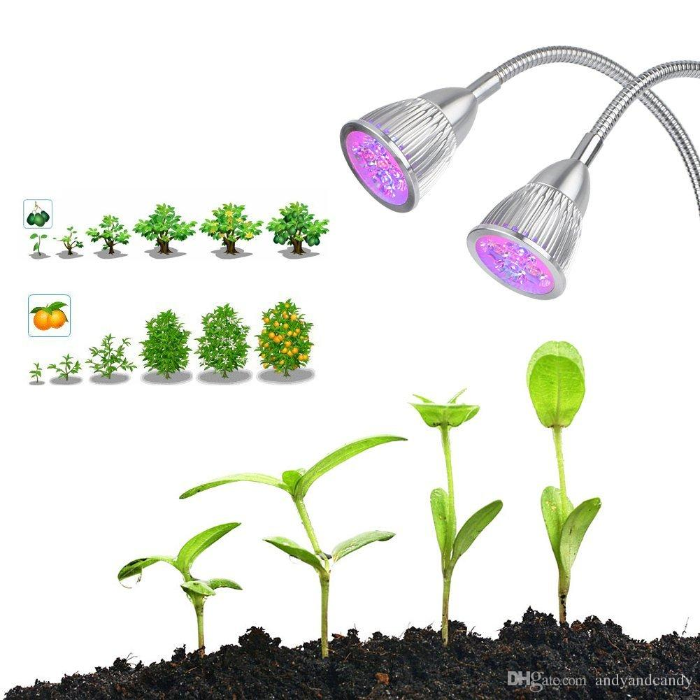 Jardin Des Plantes D Interieur Single Led Dual Triple Led Grow Light Growing Lampe 360 Col De Cygne Réglable Led Grow Lights Pour Les Plantes D Intérieur Growing Home