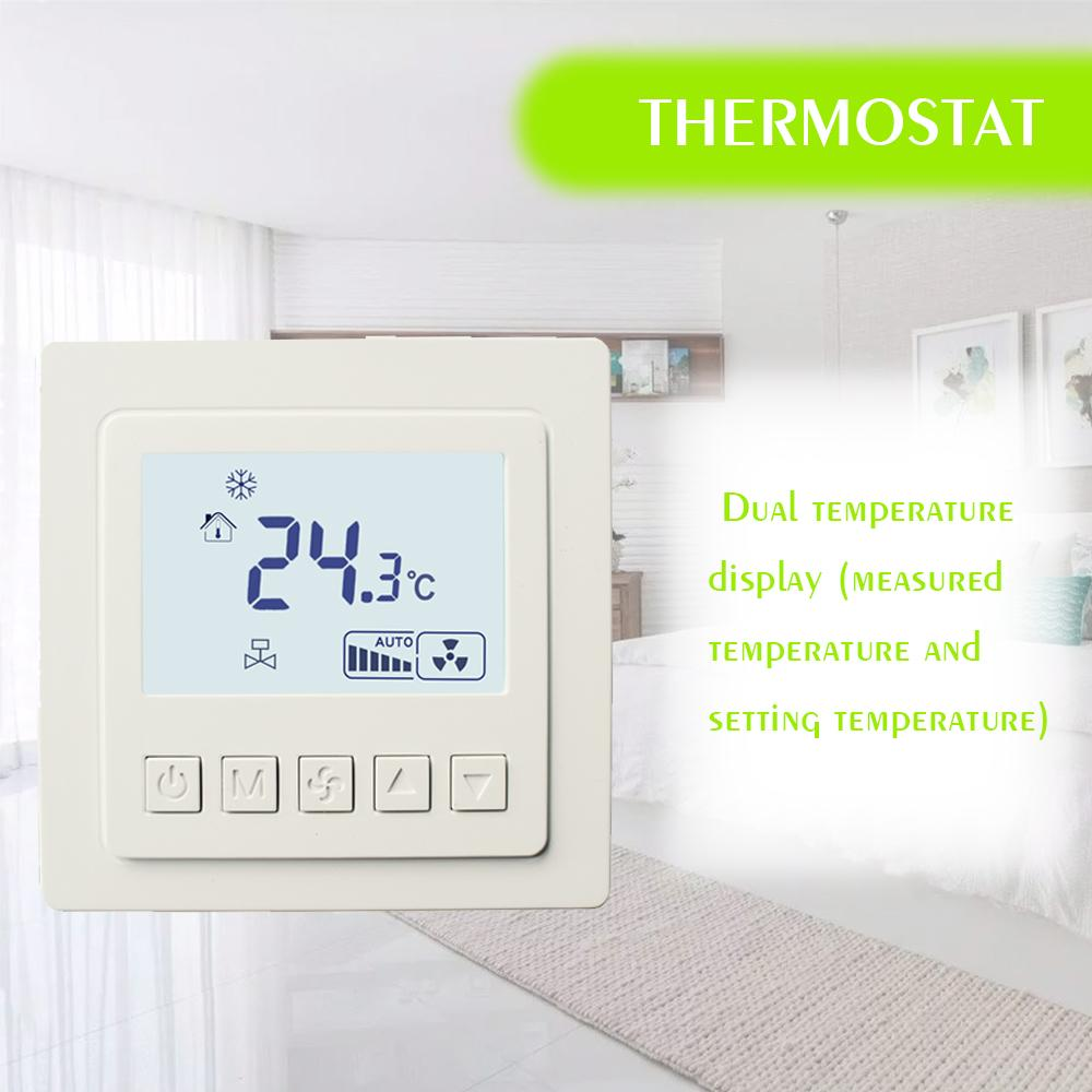 Heating Thermostat Lcd Touch Screen Room Temperature Controller Thermostat Backlight Weekly Programmable Underfloor Heating Thermost Lyk 608