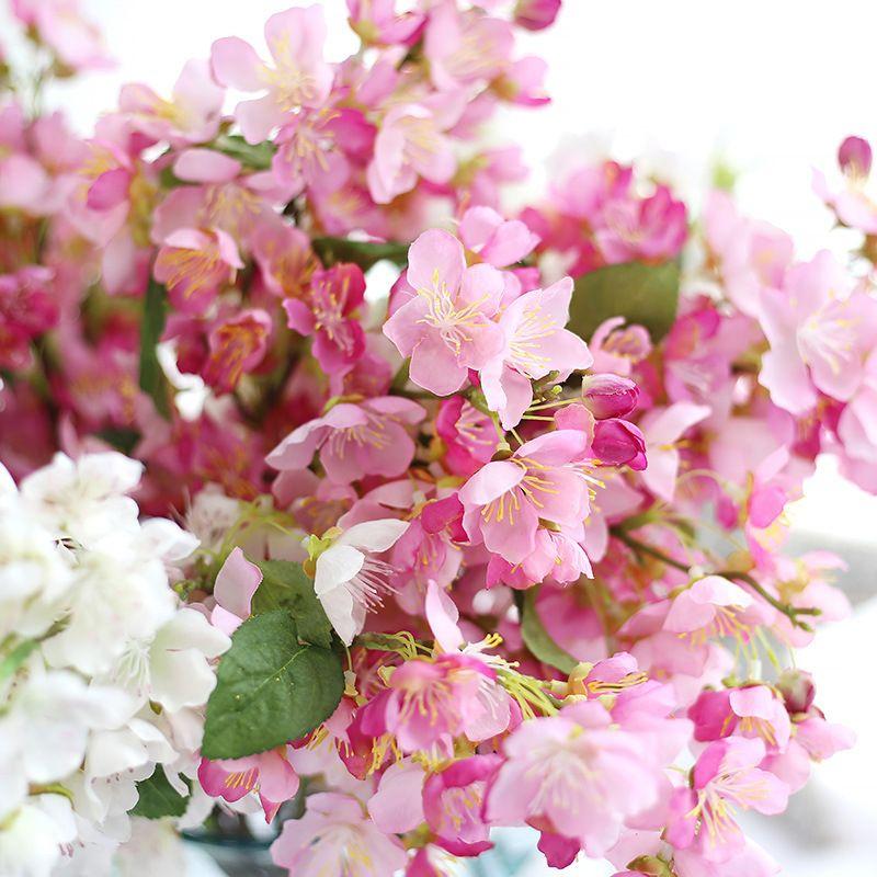 Compre 2018 Nueva Primavera Flores Falsas Artificiales Hoja Flores