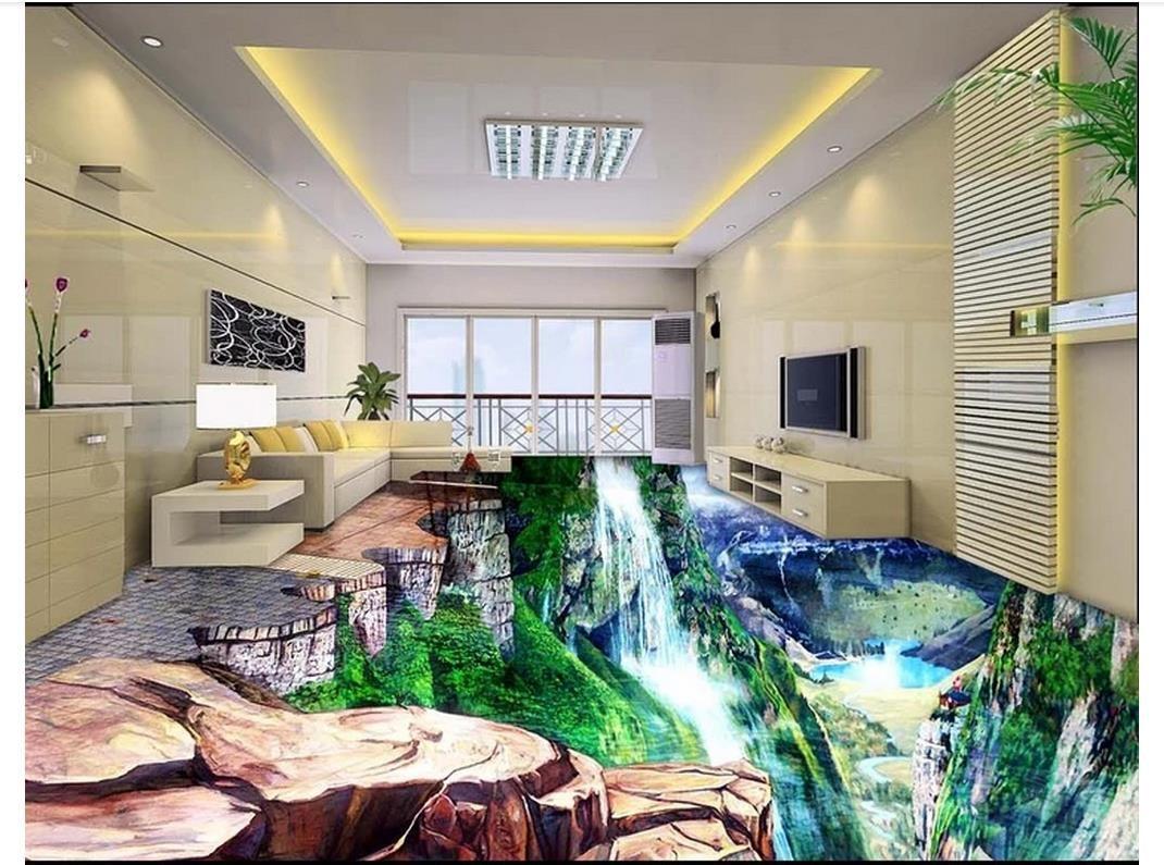 Fußboden 3d Bilder ~ D bad boden pcs wandfliesen selbstklebende pvc aufkleber