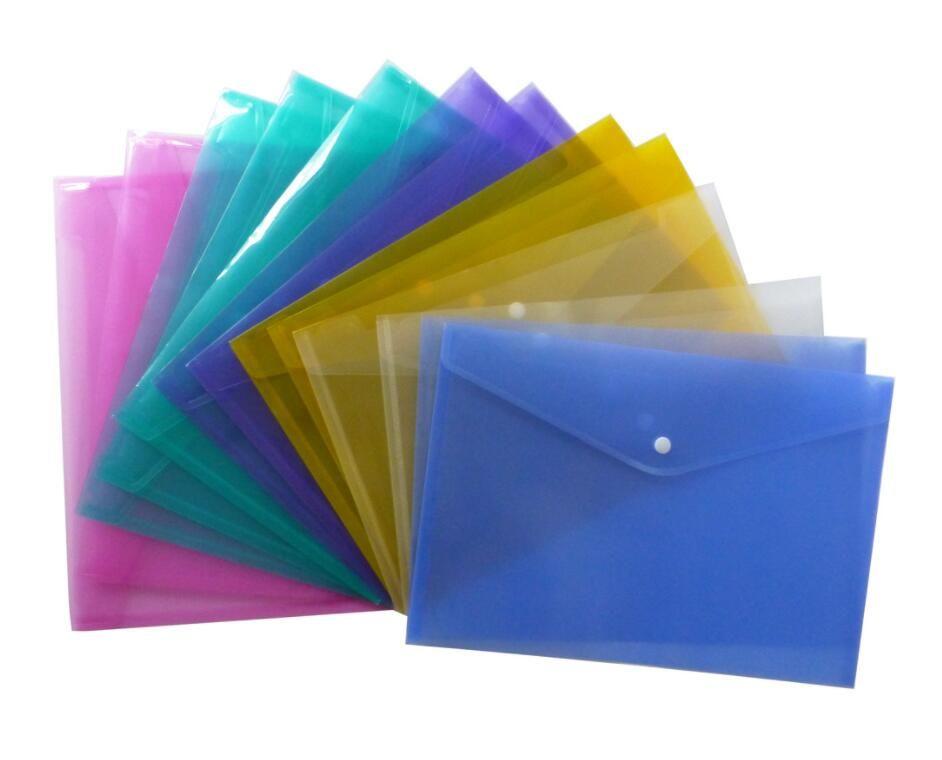 Best Quality A4 File Folder Transparent Plastic Document