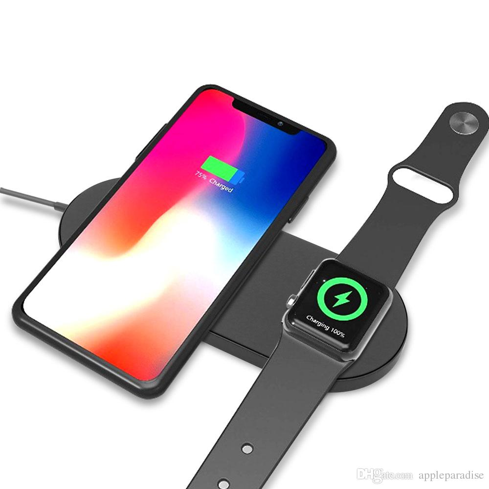 Handy Ladeschale 2 In 1 Wireless Ladegerät Für Iphone Xs X 8 8 Plus Für Iwatch 2 Serie 3 Qi Wireless Schnellladung