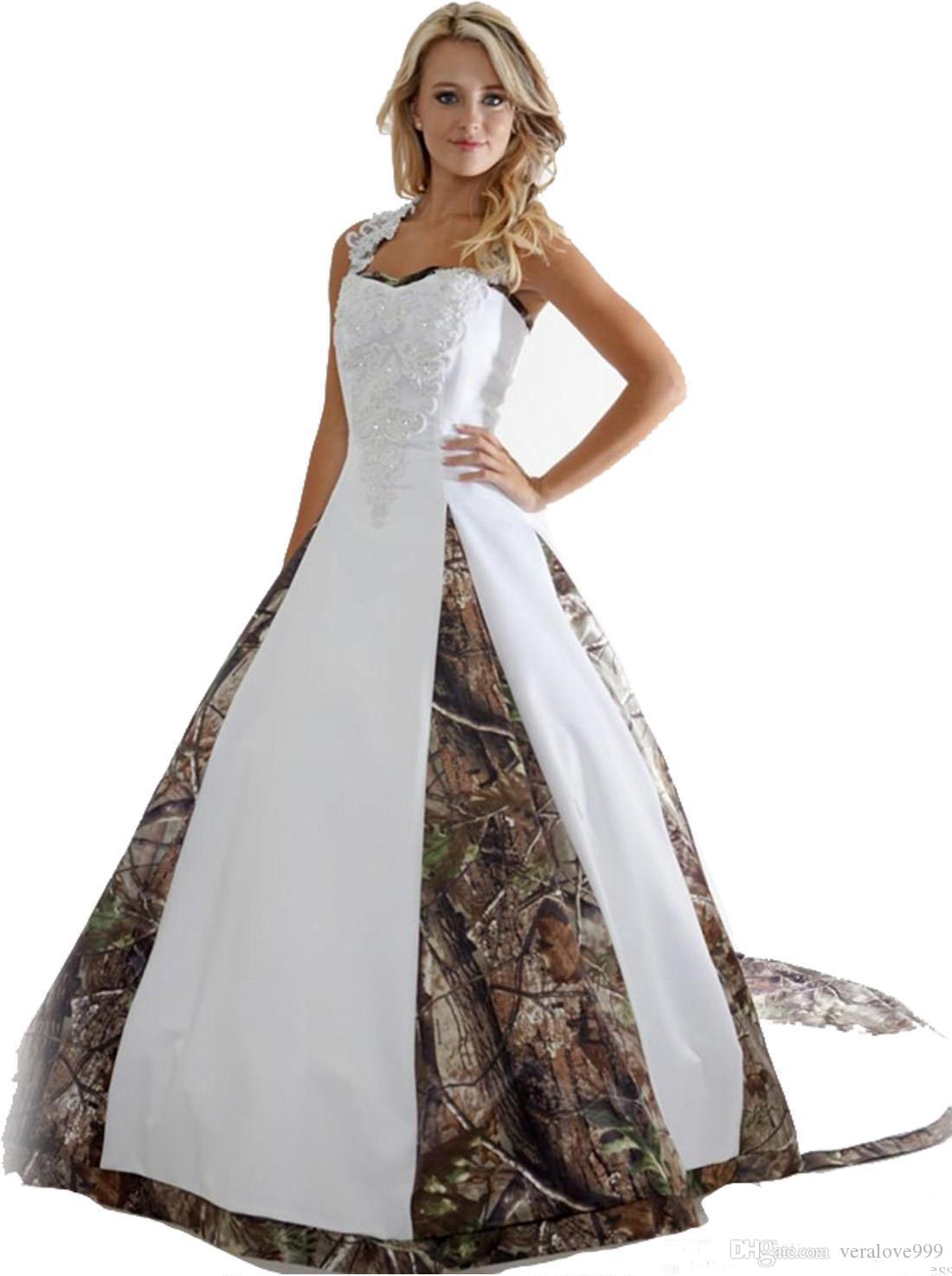 Exciting Appliques Ball Gown Long Discount 2018 New Camo Wedding Dresses Appliques Ball Gown Long Camouflagewedding Party Dress Bridal Gowns Romantic Lace Wedding Dresses Wedding Discount 2018 New Cam wedding dress Camo Wedding Dresses