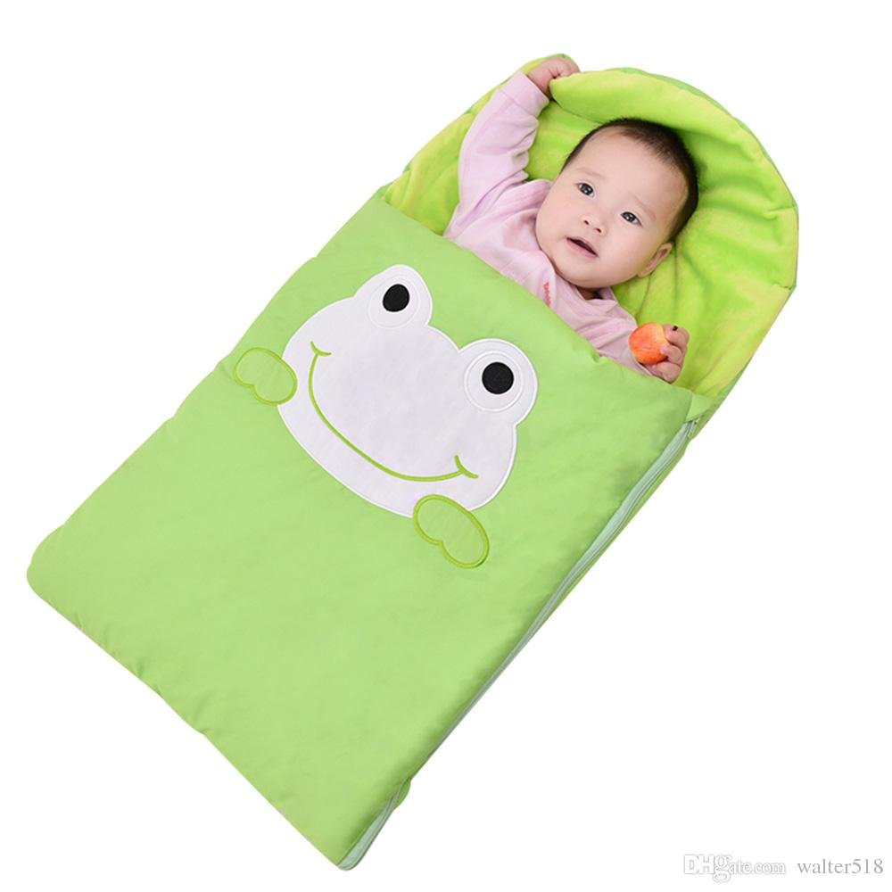 Cotton Baby Sleeping Bag Baby Bedding Baby Sleeping Bags Kids Sleeping Sack Infant Toddler Winter Sleeping Bag Cartoon Animals Sleep Bag Xhy018