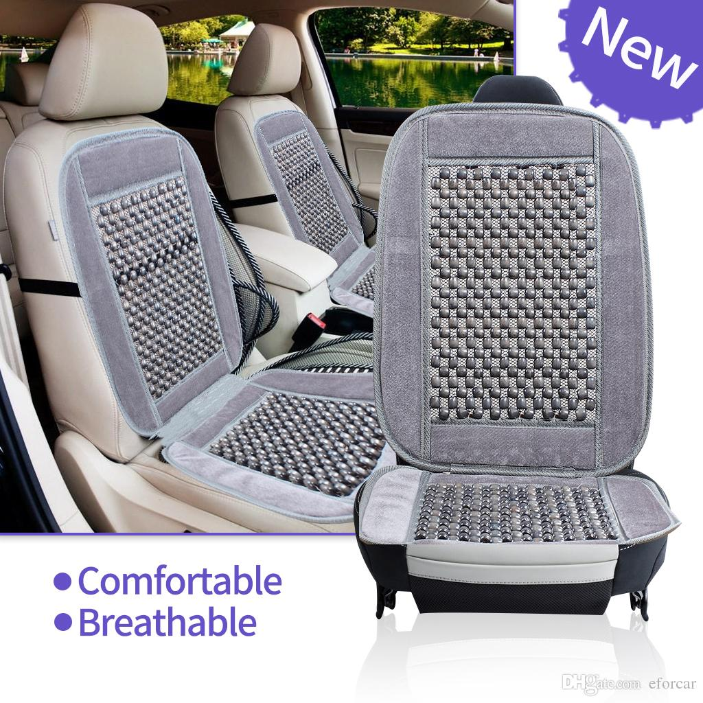 Car Seat Cushions Australia Natural Wood Bead Seat Cushion Auto Car Home Chair Cover Tan Beaded Office Chair Bseat Cover