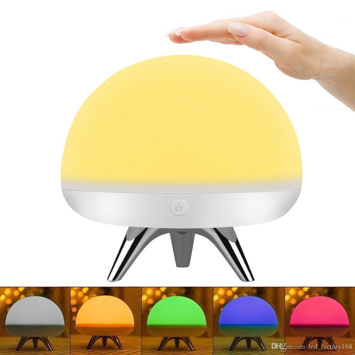 Table Lamps For Kids Children Kids Led Night Light Silicone Toy Nightlight Baby Rooms Nursery Lamps Bedroom Touch Sensor Table Lamps Christmas Gifts With 4 Light