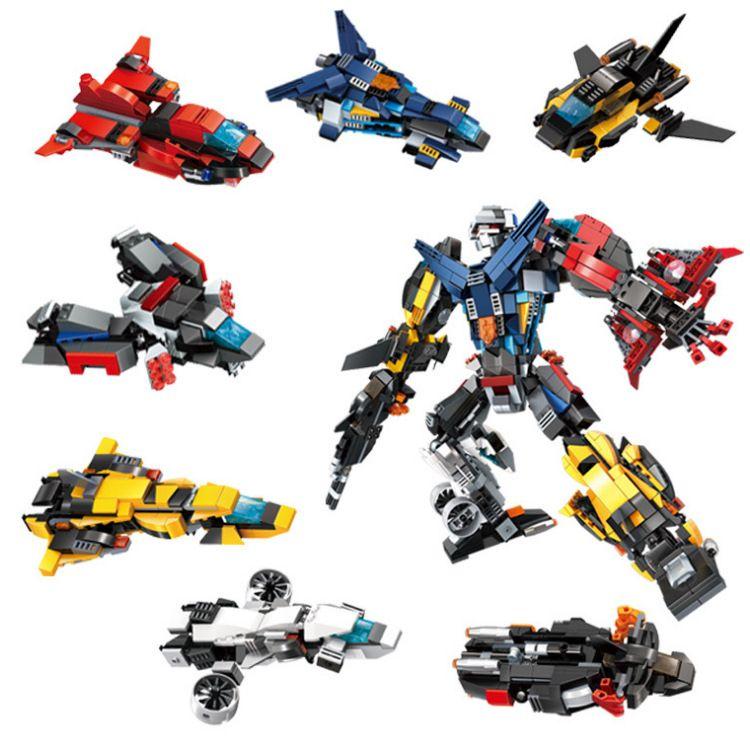 2018 Transformering Building Block Mini Engineering Boy Car Toys