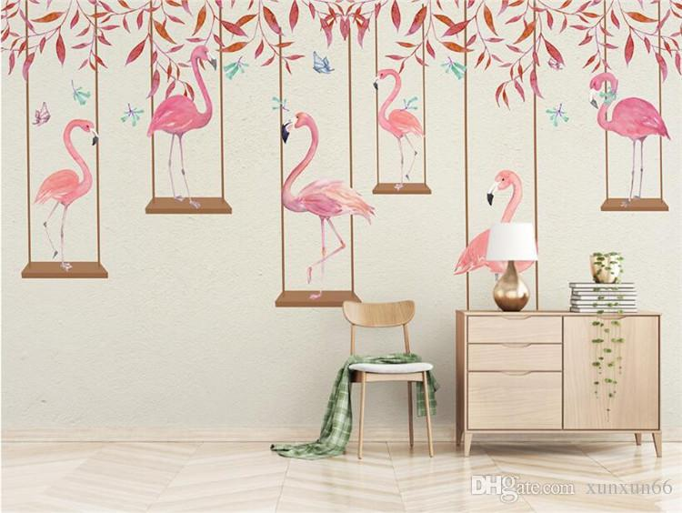 3d Effect Wallpaper For Living Room Photo Wallpaper High Quality 3d Effect Cartoon Kids Room