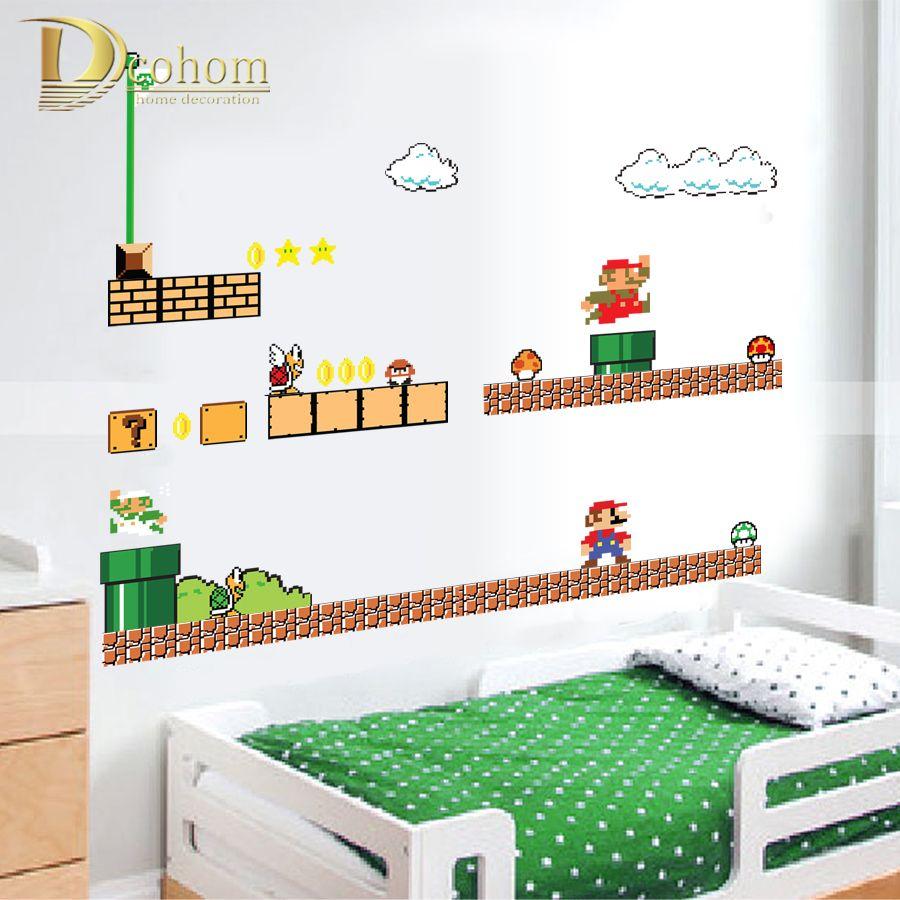 Deco Chambre Mario Chambre Gamer