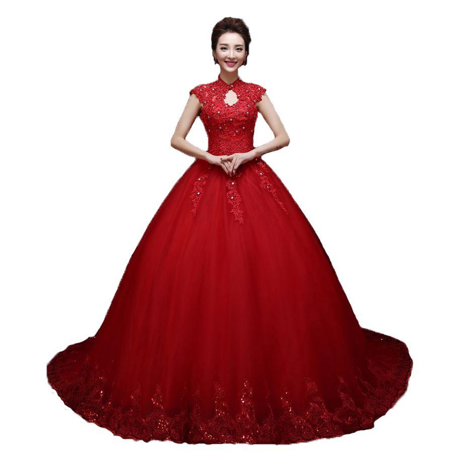 Fullsize Of Red Wedding Dress