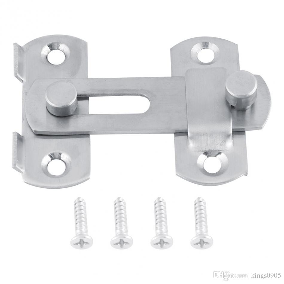 Accessori Per Armadi Scorrevoli New Hot Hasp Latch Stainless Steel Hasp Latch Lock Serratura Per Porte Scorrevoli Per Finestre Armadio Per Accessori Accessori Per La Casa