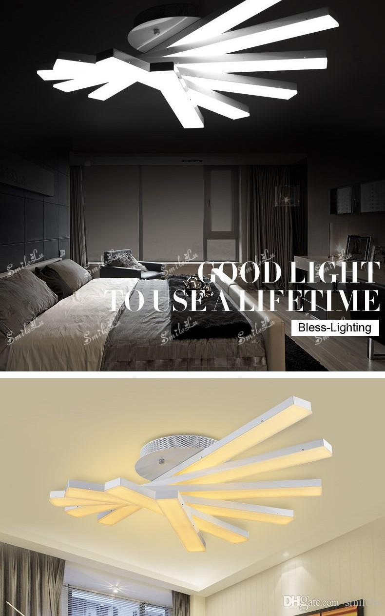 Deckenleuchten Modern Creative Modern Minimalist Led Ceiling Lights For Living Room Bedroom Deckenleuchten Led Ceiling Fixtures Abajur Led Ceiling Lamp