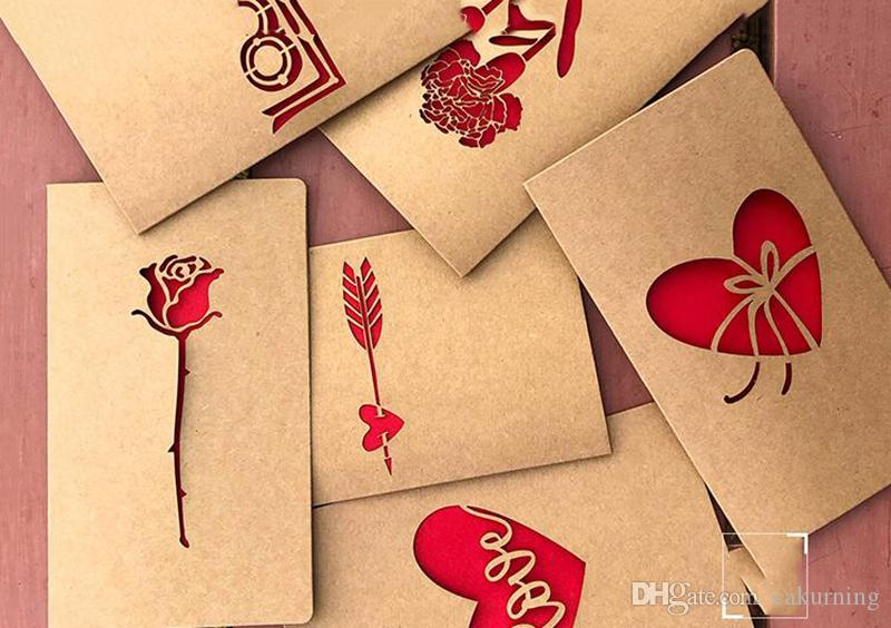 Mother\u0027S Day Card Creativity, Retro Kraft Paper Laser Love - online printable mothers day cards