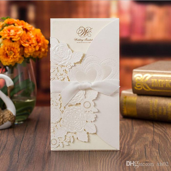 2018 New Personalized Wedding Invitations Cards Free Personalized