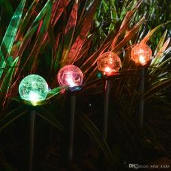 Relaxing 2018 Solar Pathway Lights Crackle Glass Globe Solar Lights Outdoor Colorchanging Steel Solar Garden Lights From 2018 Solar Pathway Lights Crackle Glass Globe Solar Lights Outdoor