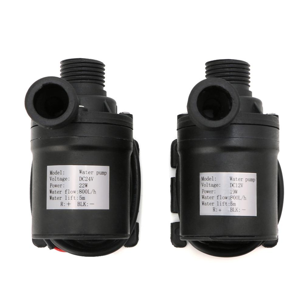 Pompe Submersible 12v 800l H 5m Dc 12v 24v Solar Brushless Motor Water Circulation Water Pump Submersibles Water Pumps