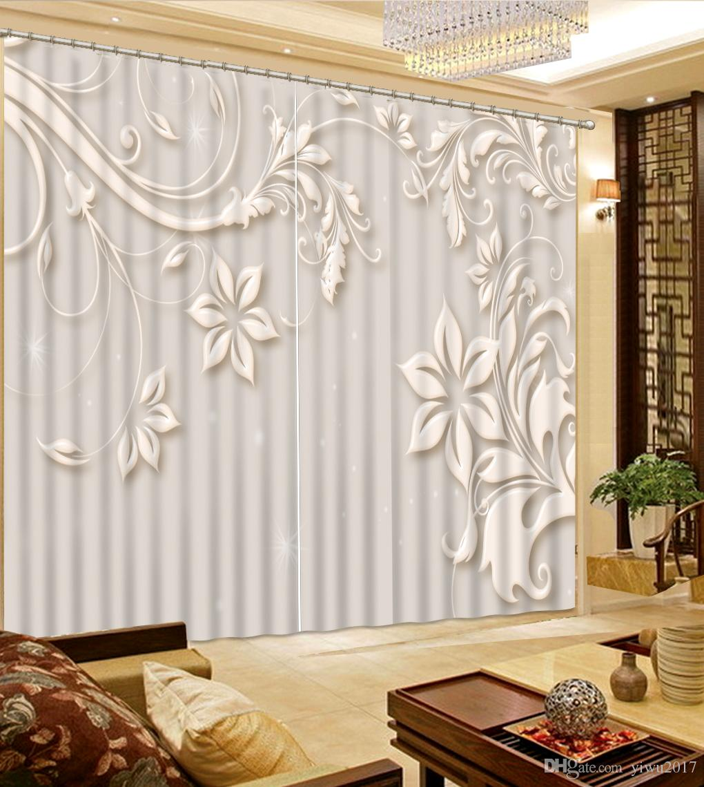 Modern Curtains For Bedroom Luxury 2017 Modern Curtains For Living Room Fashionable Jewelry Window Curtain 3d Curtains For Bedroom