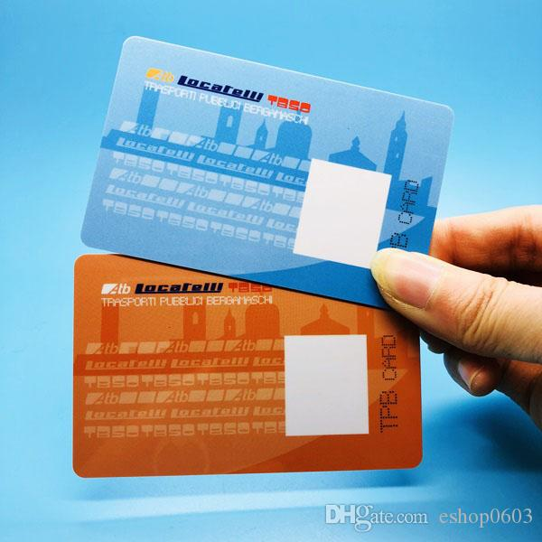 ISO Standard CR80 Club Membership Card Printable Plastic Card With