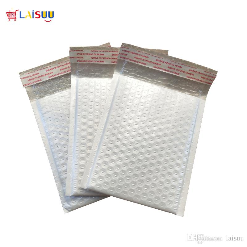 2019 150*180mm Poly Bubble Mailer White Self Seal Padded Envelopes