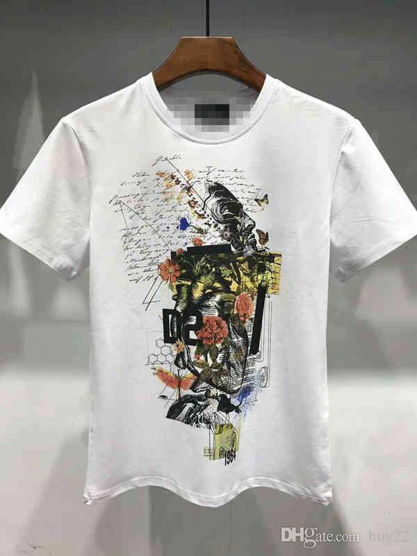 GRSummer Men\u0027S Luxury T Shirt Spring Cotton Brand T Shirt Snake