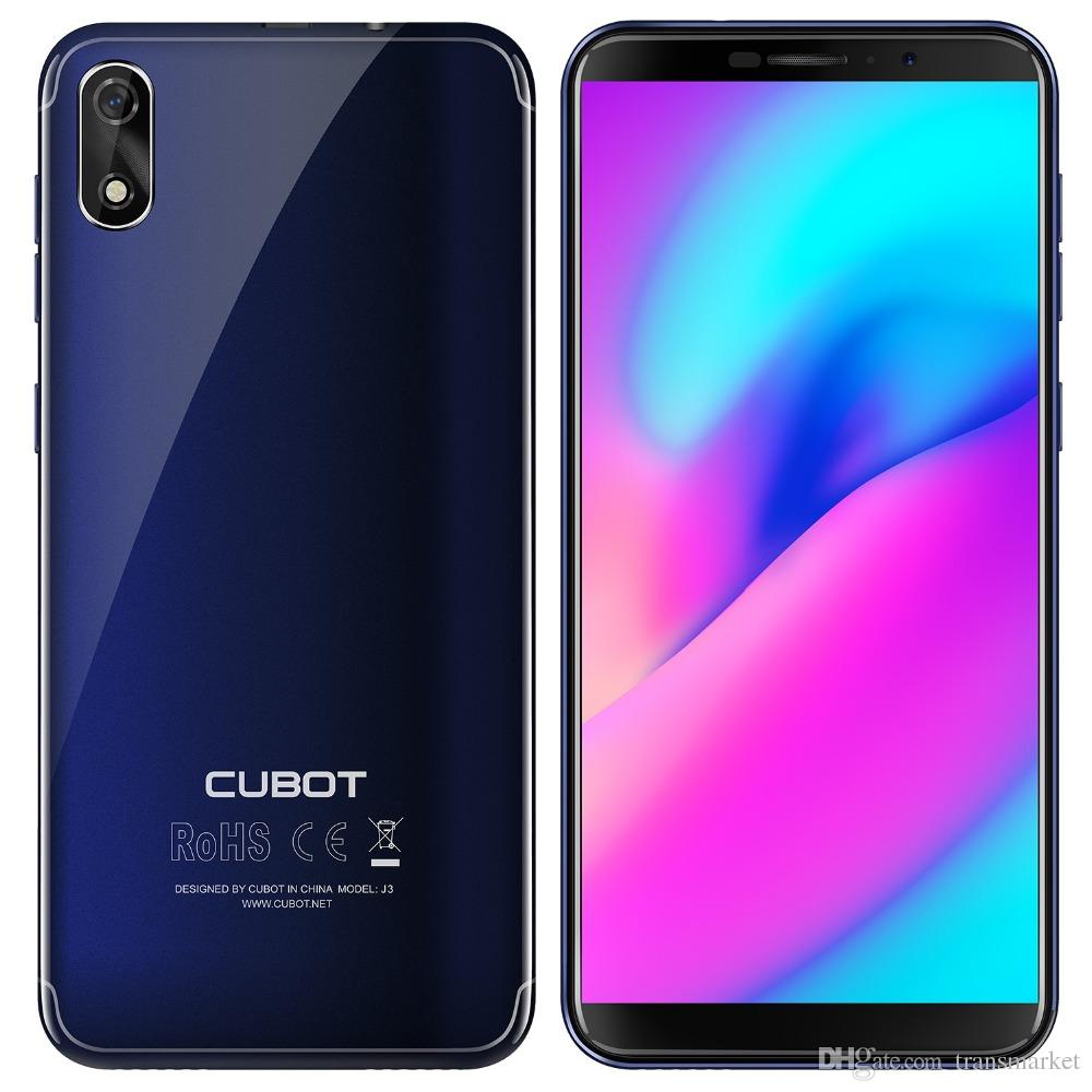 Moviles Libres Chinos Android Cubot J3 3g Smartphone 5 Pulgadas Android Go Mt6580 Quad Core 1 3ghz 1gb Ram 16gb Rom 8 0mp Cámara Trasera 2000mah Batería Desmontable
