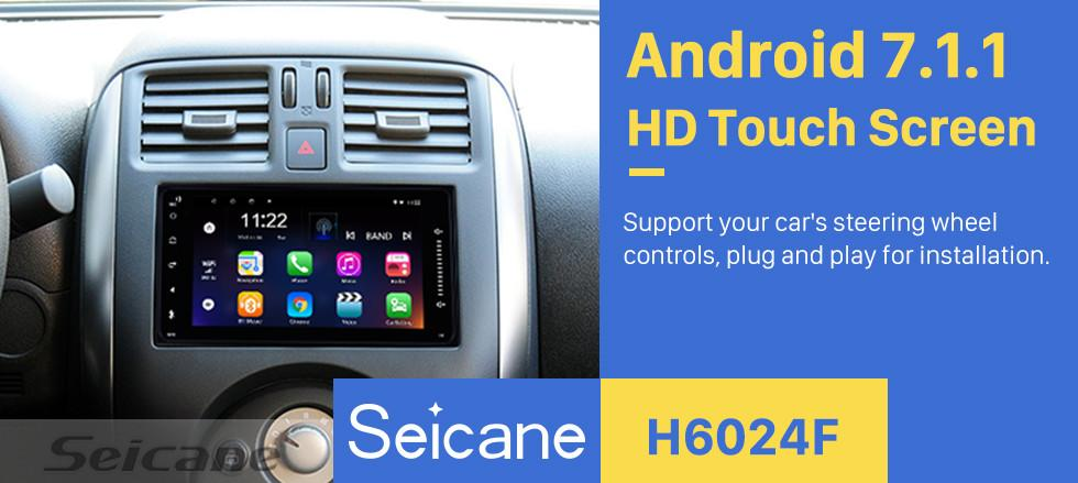 Car Dvd Seicane 7 Inch Android 81/71 Multimedia For Universal