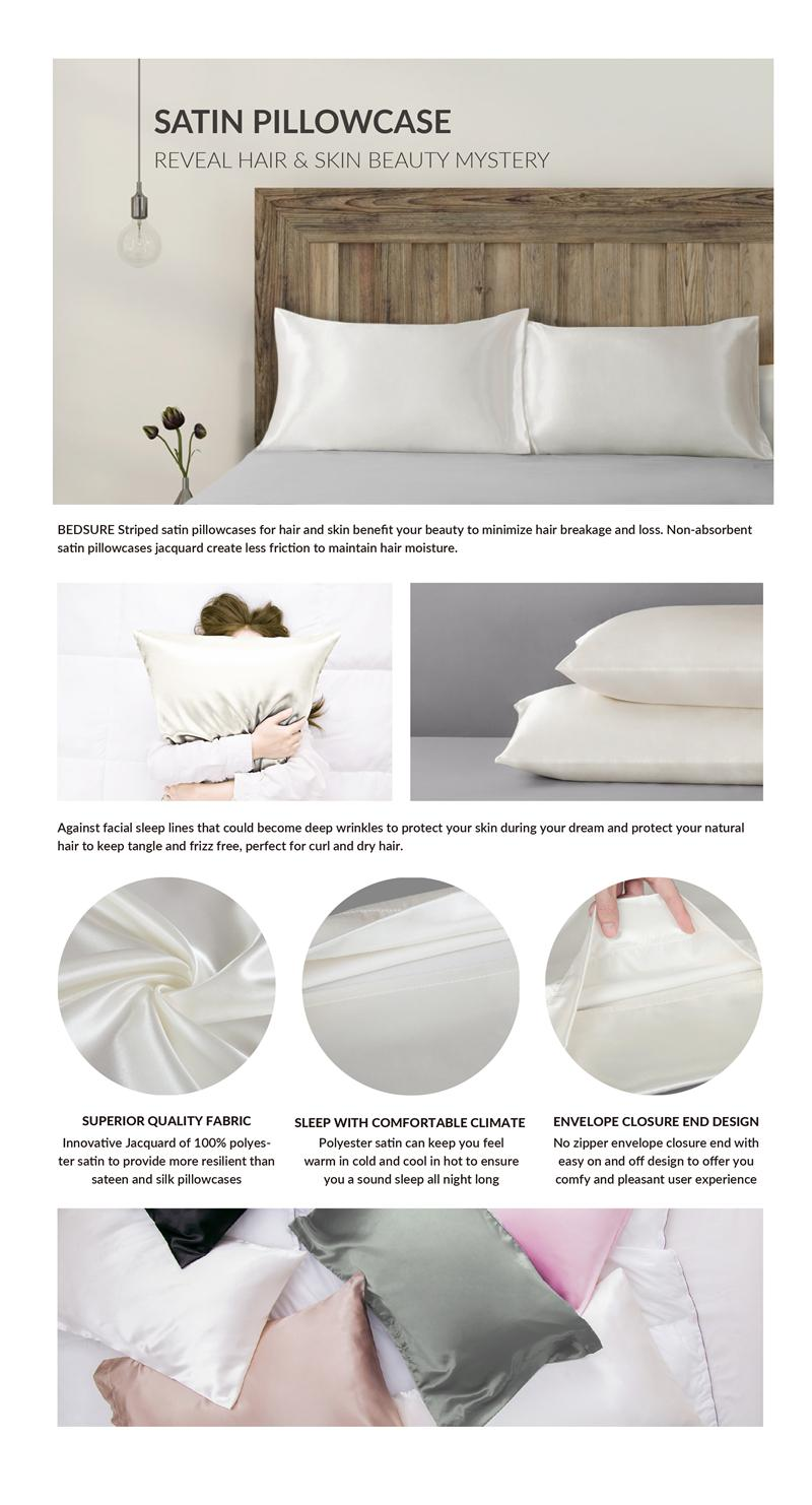 Satin Pillowcases With Zipper Seoproductname