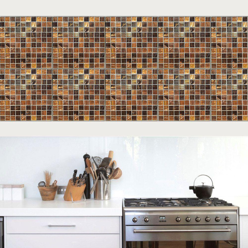 mosaik fliesen bad selbstklebend selbstklebende fliesen k che. Black Bedroom Furniture Sets. Home Design Ideas