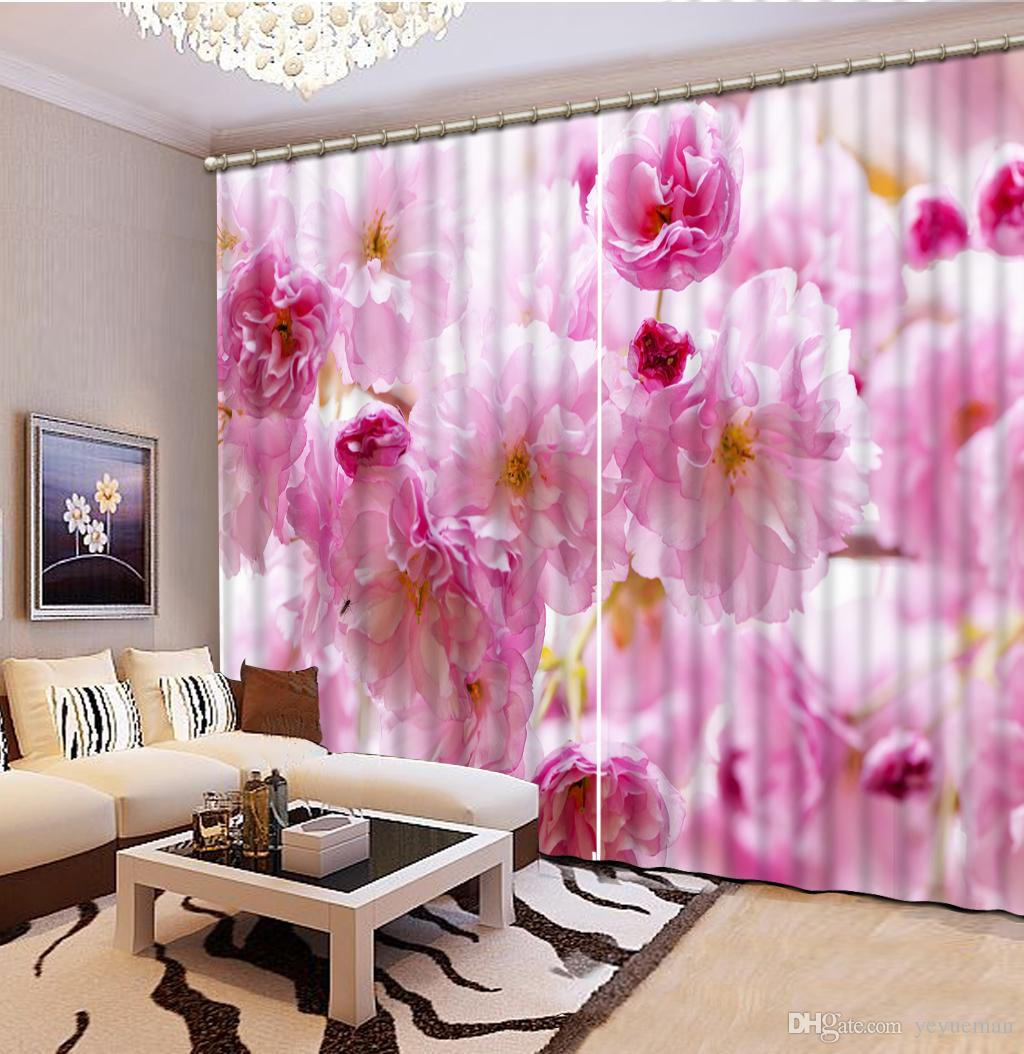 Pink Living Room Curtains Seoproductname