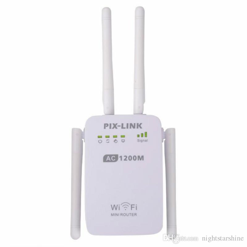 1200Mbps Wall Plug Wireless Routers AC1200 Dual Band Wi Fi Access