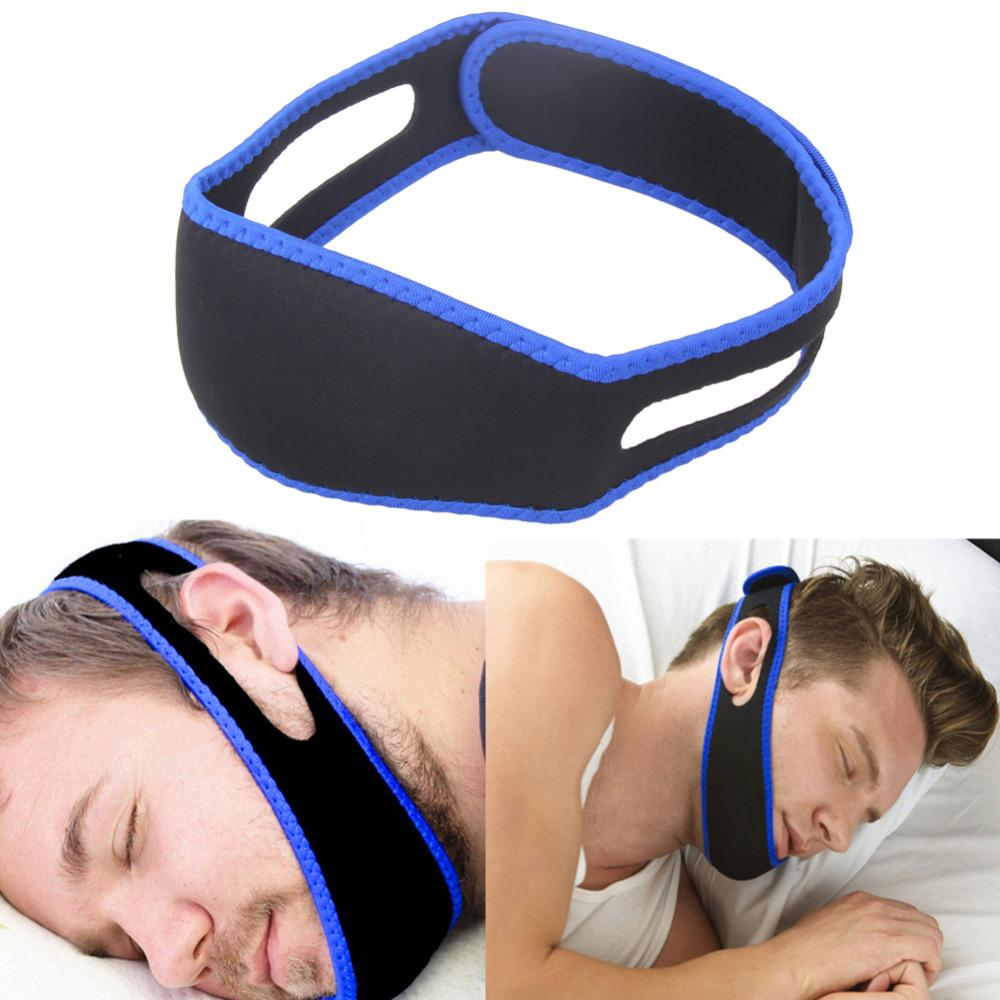 Stop Snoring Aids Anti Snore Chin Strap Stop Snoring Snore Belt Sleep Apnea Chin Support Straps For Woman Man Health Care Sleeping Aid Tools