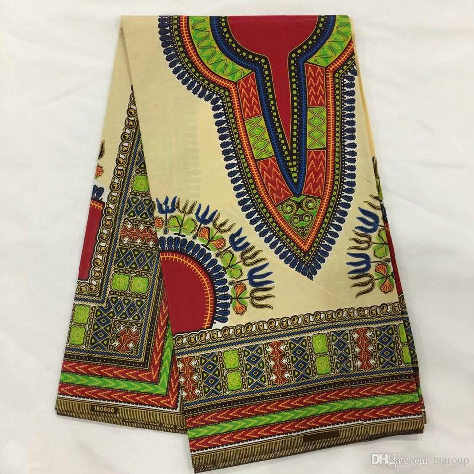 How Many Yards Of Fabric For Curtains White Dashiki Fabric African Print Dashiki Fabric Java Dashiki Angelina Makenzi 6 Yards