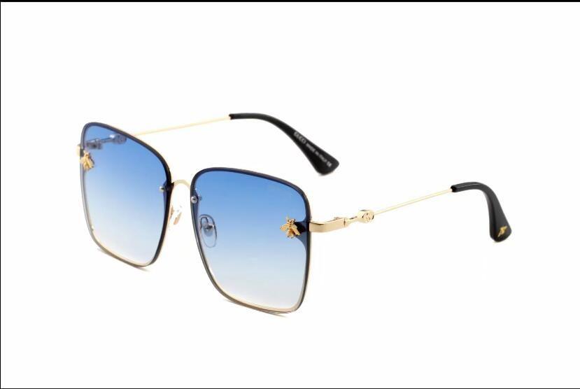 Italy Classic Brand Logo 3864 Sunglasses Woman Bee Design Fashion