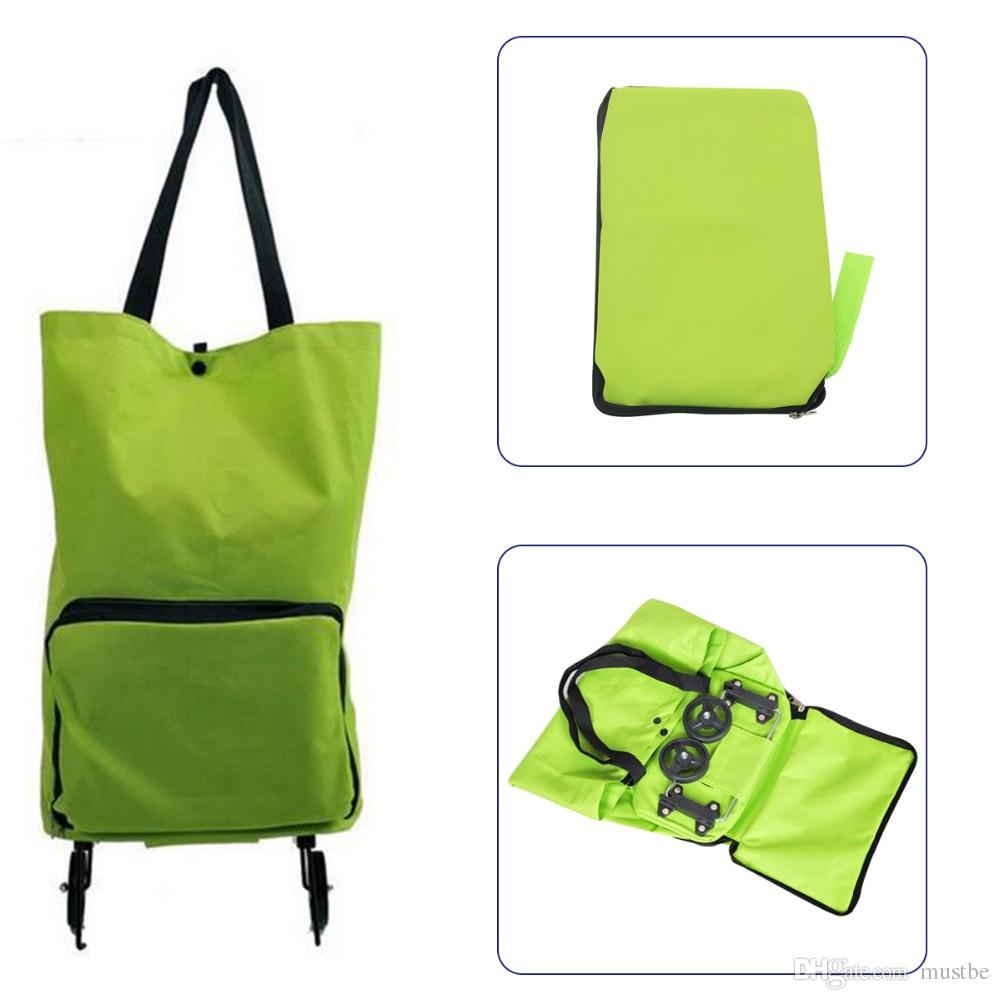Tote Bag Leather Tasche Shopping Bags Trolleys Bag Png Shopping Trolley Bag With Wheels Portable Foldable Shopping Bag Luggage Bag Packet Drag Collapsible Travel 3pcs Lot