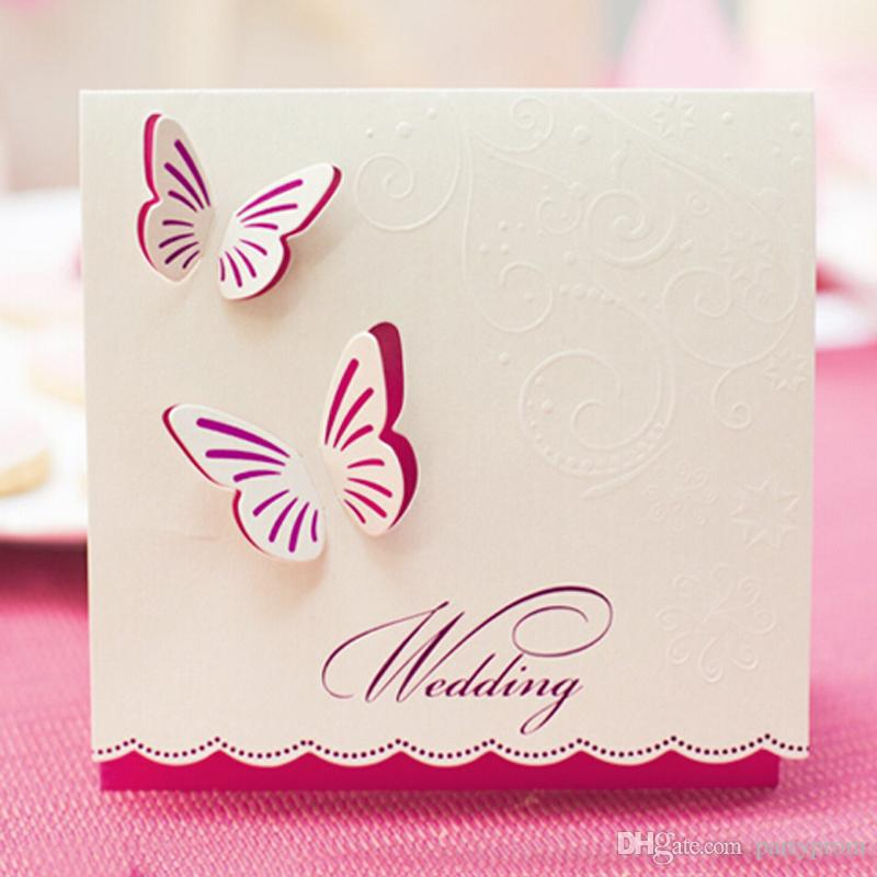 Best Wedding Invitation Font In Word Wedding Invitations Butterfly Style Fancy Design