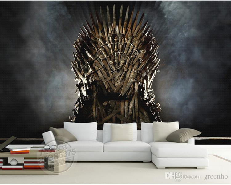 Ikea Schlafzimmer 3d Game Of Thrones Wallpaper Iron Throne Wall Murals Custom