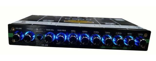 2019 Car Audio IA 09 Adjust Multichannel Car Equalizers EQ
