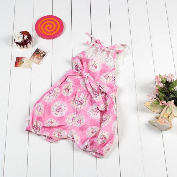 2018 Floral Baby Onesies ,Newborn Baby Girl Clothes,Summer Girls - onesies designs