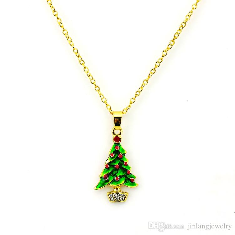 2019 New Arrival Fashion Christmas Jewelry Sets Gold Plated Elegant