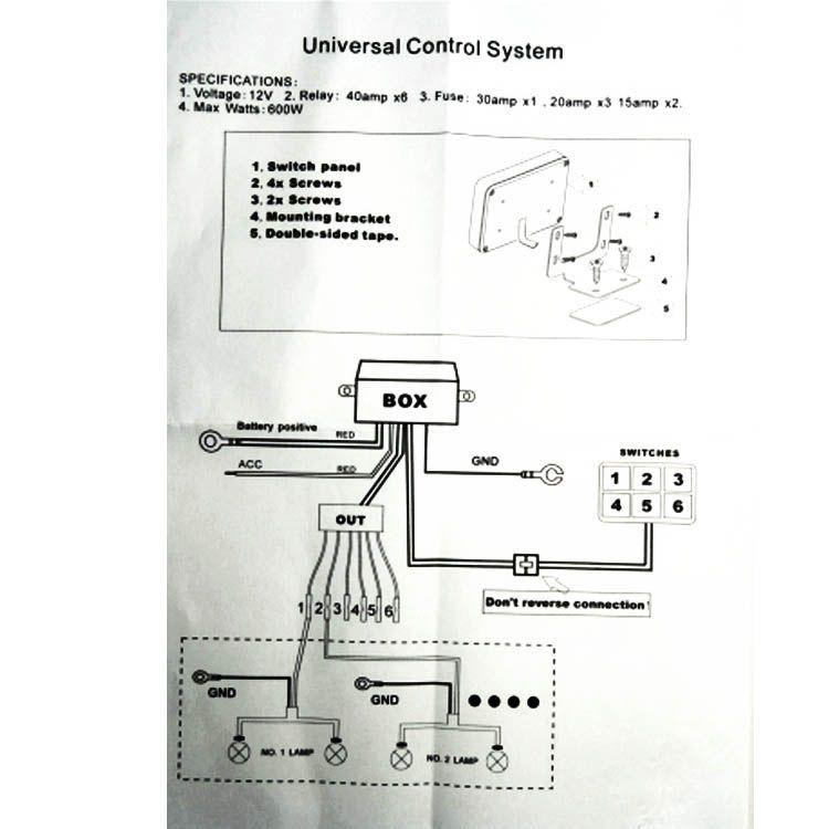 3 gang switch panel wiring diagram  | 600 x 430