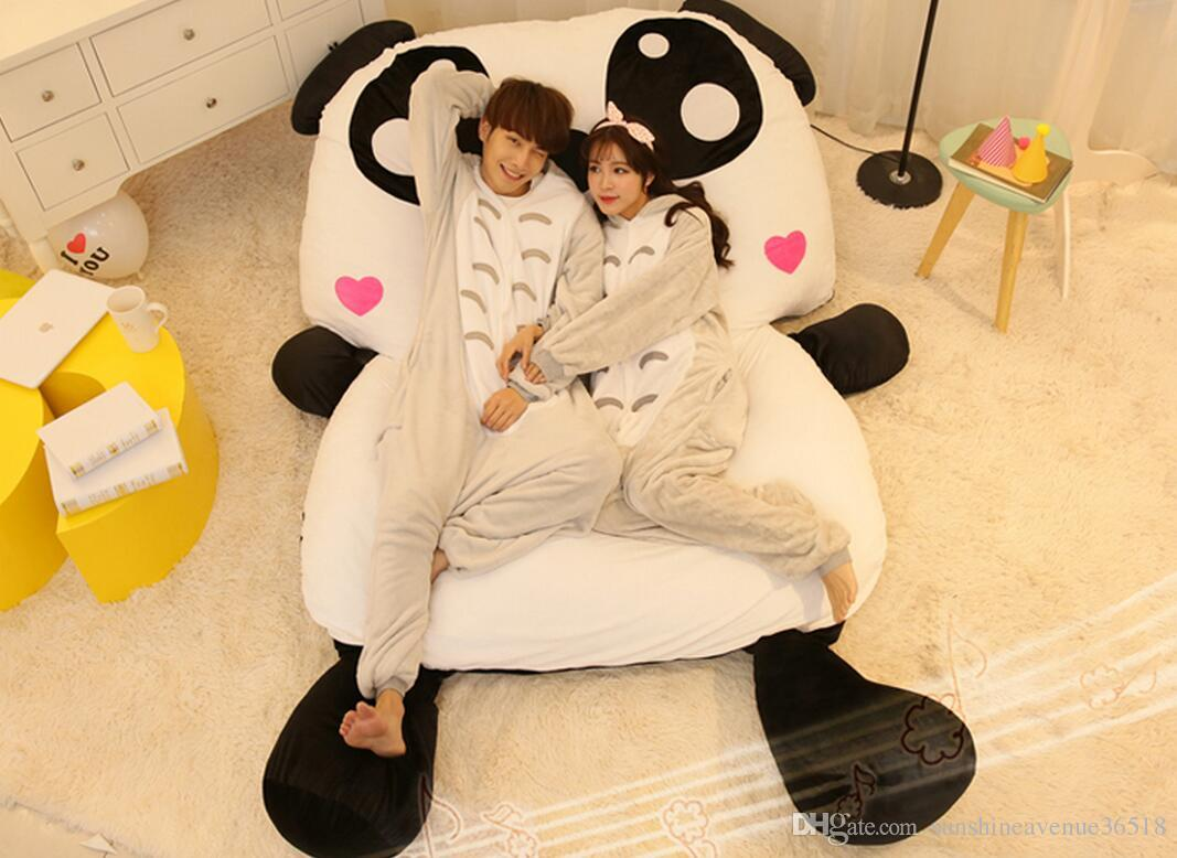 Sofa Bed Giant Malaysia Cartoon Giant Panda Beanbag Soft Stuffed Bed Carpet Sofa Tatami Mattress Sleeping Bag Nice Gift Free Shipping