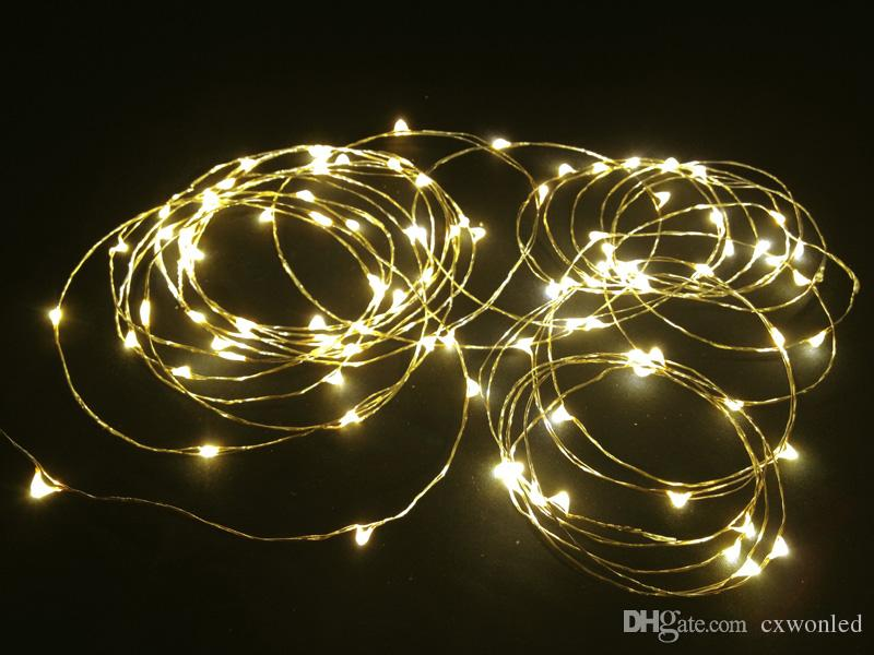 5m 50leds Aaa Battery Operated Led String Mini Led Copper