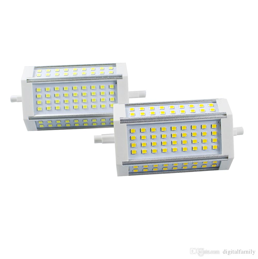 R7s Led Dimmbar Dimmbare R7s 30w 118mm Smd2835 72led Glühlampe Lampe Led Scheinwerfer Mais Glühlampe Lampe Ersetzen 300w Halogenlampe Ac85 265v