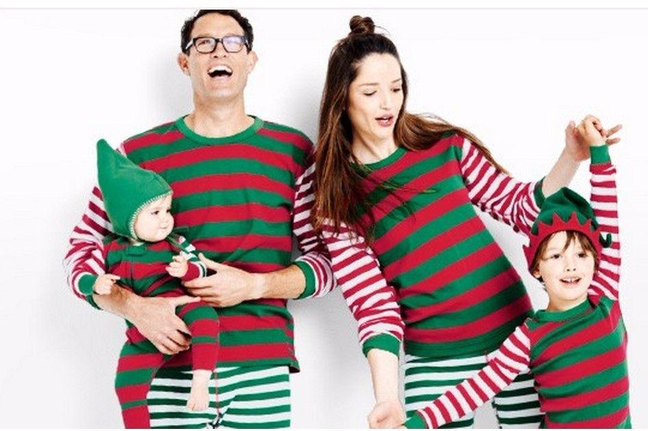 Compre Ropa De Dormir De Navidad Familiar Ropa A Juego Para La Madre