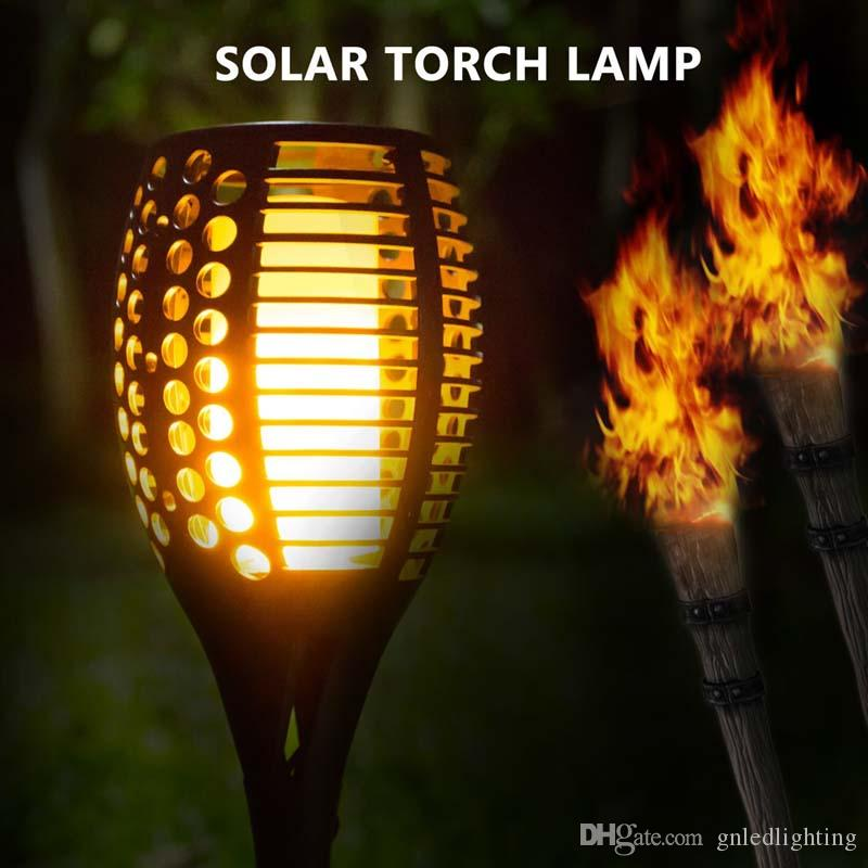Drop Ceiling Lighting 2018 Solar Path Torches Lights Dancing Flame Lighting