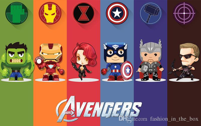 Custom Anime Wallpaper 3d Avengers Wallpaper Hulk Badge Wall Mural Photo