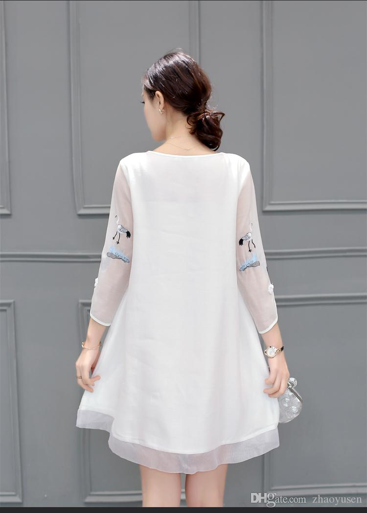 Chinese Wholesale Clothing Manufacturers Chinese Wind Restoring Ancient Ways Show Thin Silk Linen