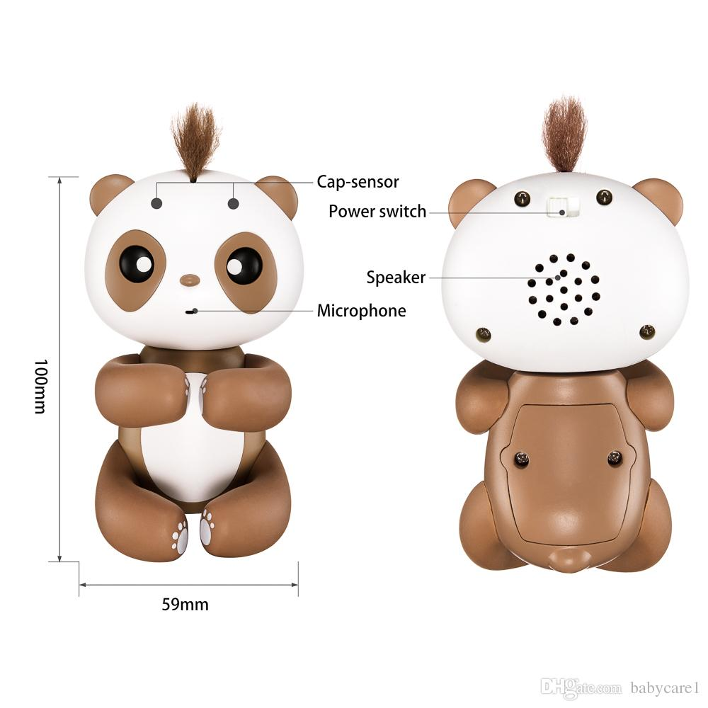 Kinder Affe Finger Panda Nette Smart Finger Baby Affe Interaktiv Finger Affe Elektronische Haustiere Kawaii Spielzeug Für Kinder Weihnachtsgeschenk